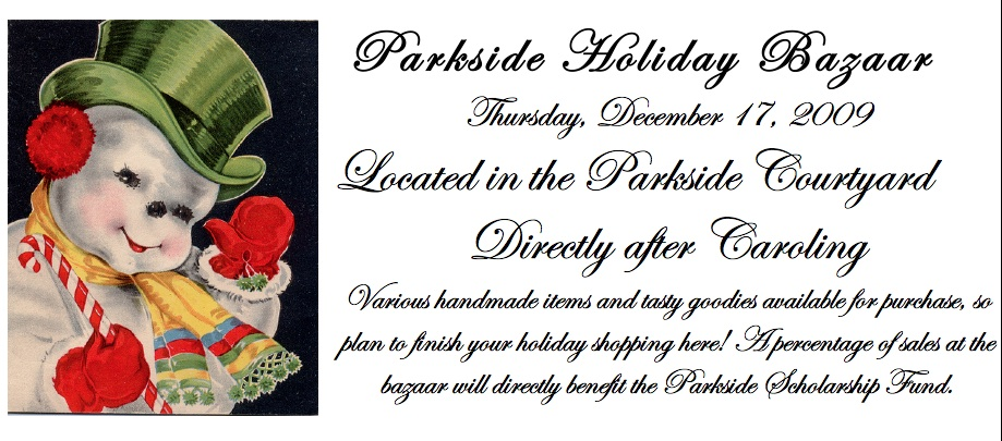 Parkside Holiday Bazaar